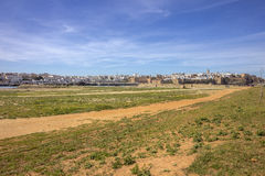 View of Kasbah of the Oudayas and ancient Medina in Rabat from th Royalty Free Stock Photos
