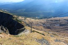 View from Kasprowy wierch in Tatra mountains, Poland Stock Photography