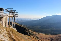 View from Kasprowy wierch in Tatra mountains, Poland Royalty Free Stock Photo