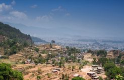 View of the Kathmandu Royalty Free Stock Photo