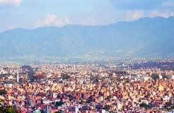View of Kathmandu Stock Image