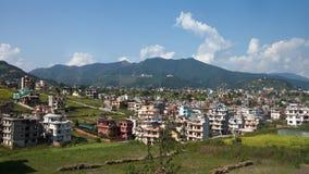 View at Katmandu city stock photos