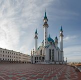 View of the Kazan Kremlin mosque cathedral Col-Sharif Stock Photos