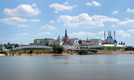View of the Kazan Kremlin, Republic of Tatarstan, Russia Stock Image