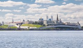Kazan Kremlin Royalty Free Stock Photography
