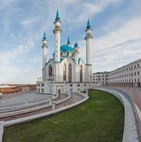 View of the Kazan mosque cathedral Col-Sharif Stock Photography
