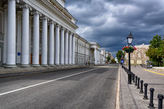 View of Kazan streets Royalty Free Stock Photography