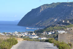View of Kefalos on Kos island Royalty Free Stock Photography
