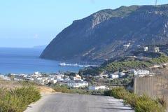 View of Kefalos on Kos island Royalty Free Stock Photography