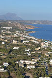 View of Kefalos on Kos island Stock Images