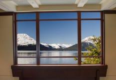 A view from the Kenai Peninsula Alaska
