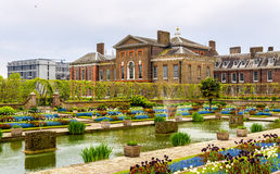 View of Kensington Palace in London Royalty Free Stock Image