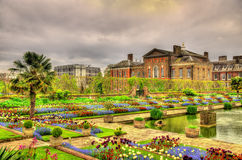 View of Kensington Palace in London Royalty Free Stock Photos