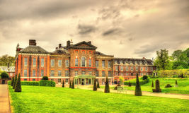 View of Kensington Palace in London Royalty Free Stock Images