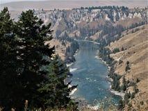 Kerr Dam River. View of Kerr Dam Resevoir Stock Photography
