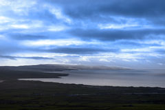 View of the Kerry coast Stock Images