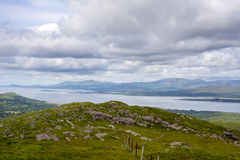 View from the kerry way in ireland Royalty Free Stock Photo