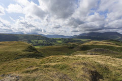View of Keswick from Moss Crag Royalty Free Stock Photography