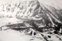 View from Khardung La Pass, Ladakh, India Stock Photo
