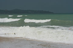 View from Kho Samui island Stock Photos