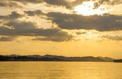 View of Khong river Royalty Free Stock Image
