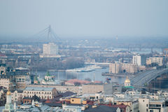 View of the Kiev. Can be used as background Stock Image