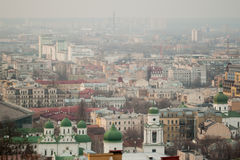 View of the Kiev. Can be used as background Royalty Free Stock Images