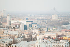 View of the Kiev. Can be used as background Stock Photos