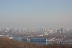 View of Kiev city Stock Image