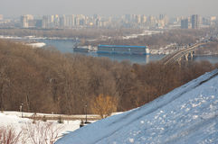 View of Kiev city Stock Photo