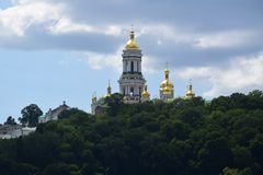 Lavra in Kiev royalty free stock photography