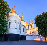 View of Kiev Pechersk Lavra. Orthodox Monastery, Ukraine Stock Images