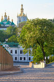 View of Kiev Pechersk Lavra Royalty Free Stock Images
