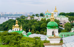 View of Kiev Pechersk Lavra Royalty Free Stock Photos