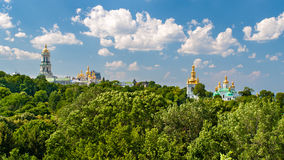 View of Kiev Pechersk Lavra Stock Photos