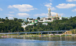 View of Kiev Pechersk Lavra Stock Photography