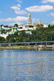 View of Kiev Pechersk Lavra Royalty Free Stock Photography