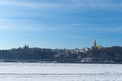 View of the Kiev Pechersk Lavra Stock Images