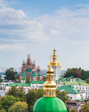View of Kiev Pechersk Lavra, the orthodox monastery included in the UNESCO world heritage list. Stock Image