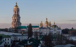 View of Kiev Pechersk Lavra Orthodox Monastery, Ukraine Royalty Free Stock Photo