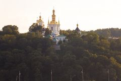 Kiev Pechersk Lavra, Ukraine. View of Kiev Pechersk Lavra Orthodox Monastery, Ukraine Stock Photos