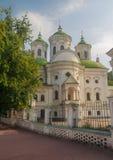 View of Kiev Podolsk Intercession Church Royalty Free Stock Photo