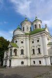 View of Kiev Podolsk Intercession Royalty Free Stock Photography