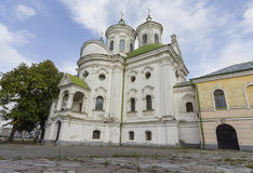 View of Kiev Podolsk Intercession Church Royalty Free Stock Photos