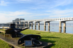 View of Kincardine Bridge Royalty Free Stock Images