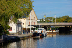 View of Kinda Kanal - Linkoping Stock Images