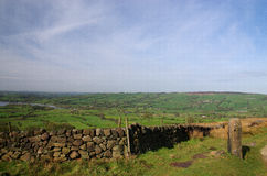View from Kinder Scout England0 Stock Photography