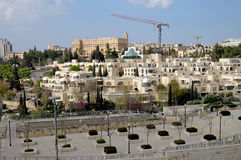 View of King David Hotel and elite residential complex Stock Images