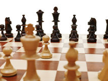 View from king of first move pawn Stock Image