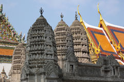 View on King's Palace in Bangkok Royalty Free Stock Photography